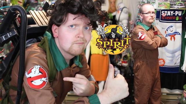 EARLY REVIEW: Real Ghostbusters Peter Venkman costume from Spirit Halloween!