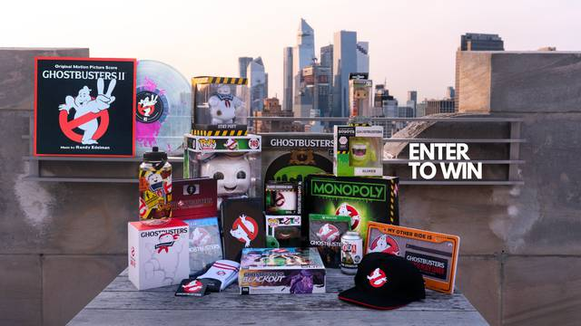 Enter to win spooktacular Ghostbusters prizes from Sony Music Soundtracks!
