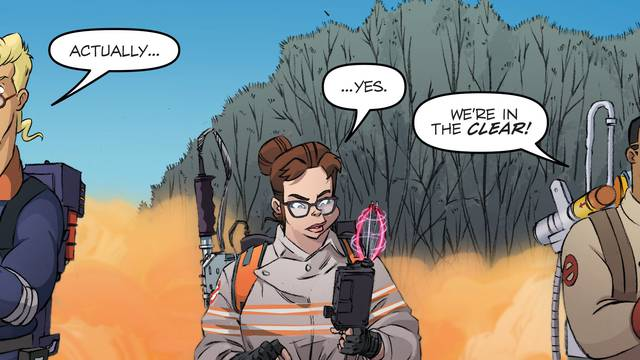 Exclusive: 'Ghostbusters' Annual 2018 Comic Sneak Peek Teases the Ultimate Franchise Crossover