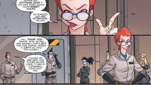 "Exclusive Preview: ""Ghostbusters: Crossing Over"" #3"