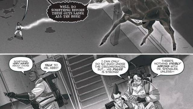 """Exclusive Preview: """"Ghostbusters: Crossing Over"""" #6"""