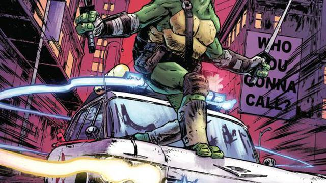 "Exclusive Preview: ""Teenage Mutant Ninja Turtles/Ghostbusters II"" #5"
