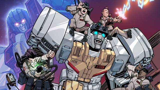 Exclusive: The Ghostbusters Are Teaming Up With the Transformers to Save the World - Gizmodo