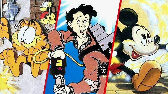 Feature: The Game That Starred Mickey Mouse, Ghostbusters Or Garfield, Depending On Your Region - Nintendo Life