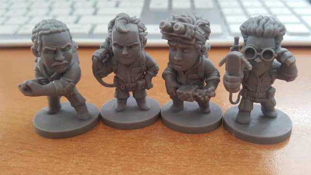 First look at highly detailed Ghostbusters miniatures from upcoming tabletop board game