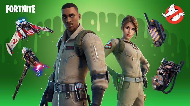 FIRST LOOK: Fortnite's Ghostbusters content is here!