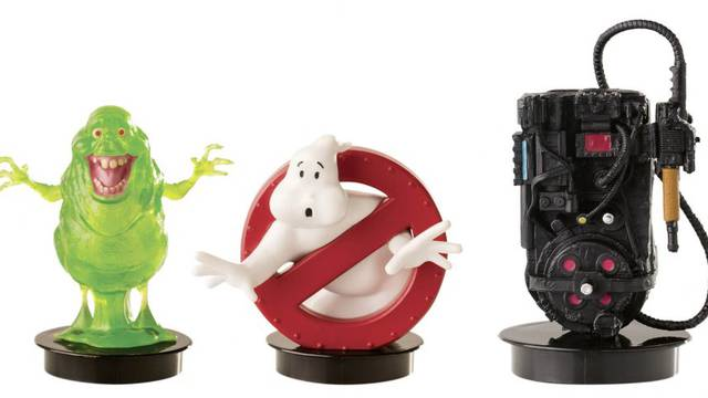 FIRST LOOK: Ghostbusters: Afterlife theater drink toppers + plushies