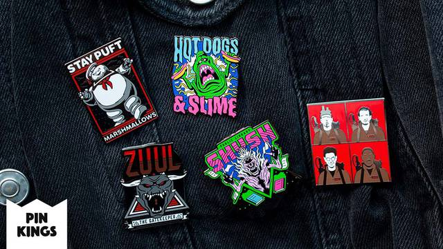 FIRST LOOK: New Ghostbusters pin sets Numskull Designs