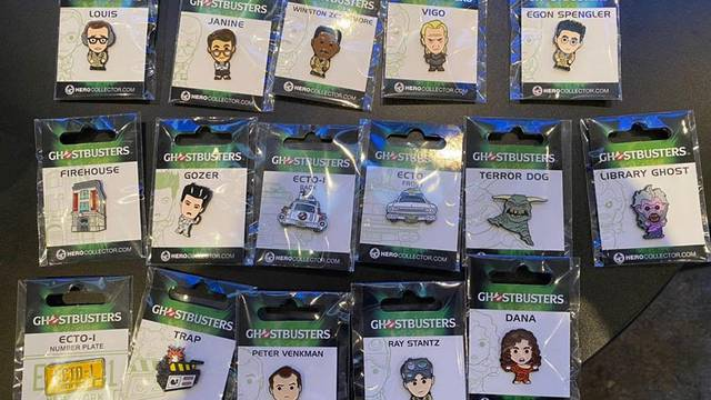 FIRST LOOK: New line of Ghostbusters pins coming from Hero Collector!