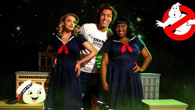 FIRST LOOK: Retro-inspired fashion house Vixen by Micheline Pitt launches Ghostbusters collection!
