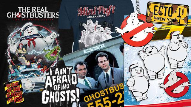 Forbidden Planet launch new Ghostbusters merchandise collection