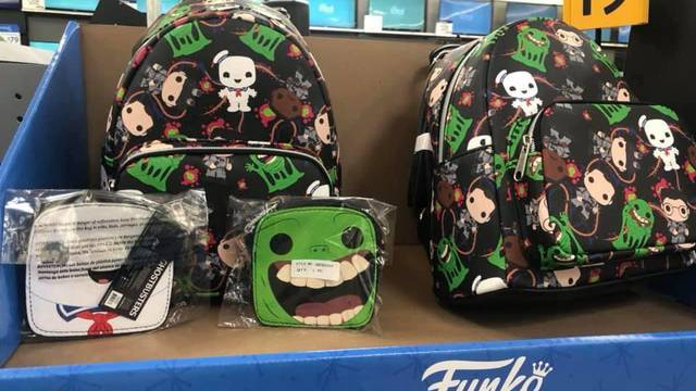 Funko Ghostbusters backpack and wallets spotted at Walmart