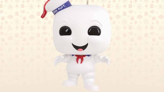 Funko reveal Ghostbusters Stay Puft Marshmallow Man Hallmark ornament