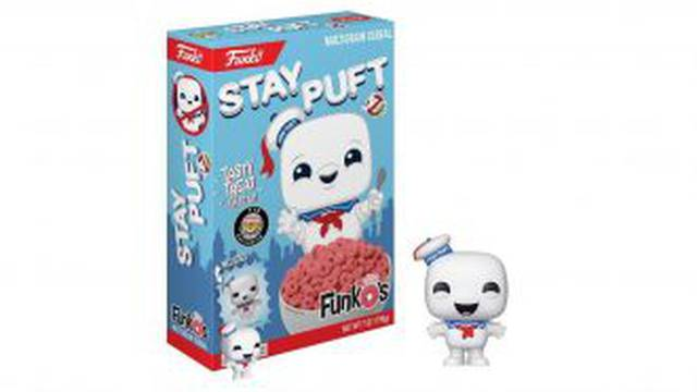 Funko set to release Ghostbusters Stay Puft Cereal!