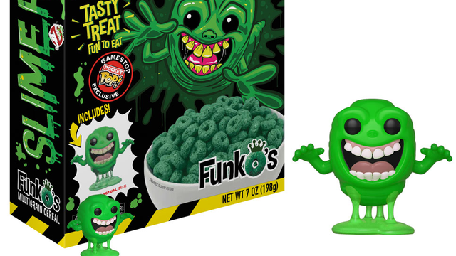 Funko's New 'Ghostbusters' Cereal Brings Slimer to the Breakfast Table - Bloody Disgusting