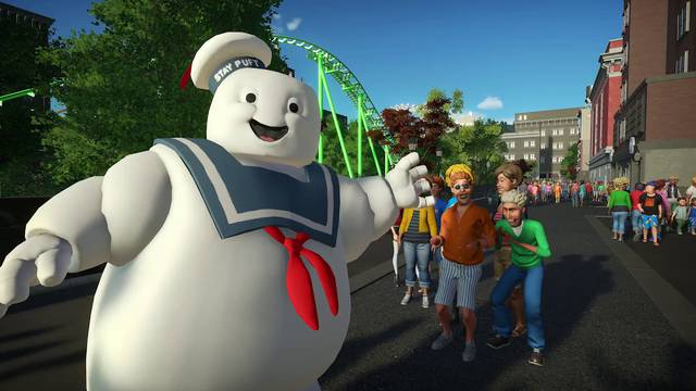 Ghostbusters add-on coming this week to Planet Coaster: Console Edition
