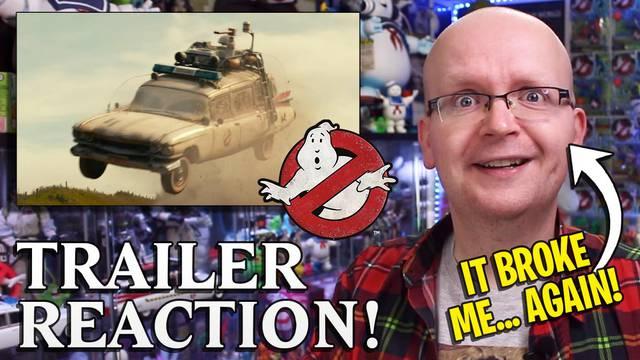 Ghostbusters: Afterlife 3rd trailer reaction (It broke me… AGAIN!)