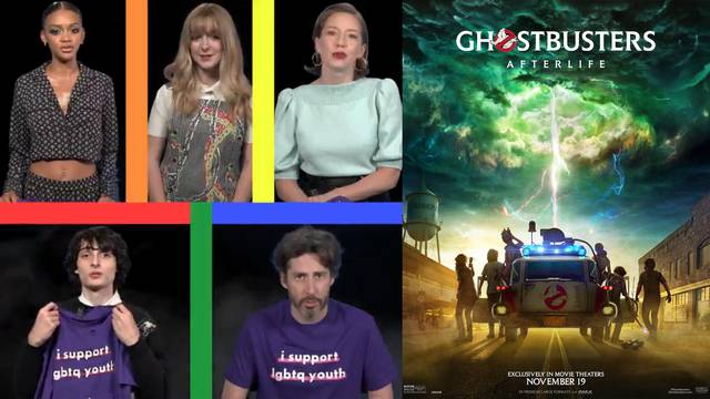 Ghostbusters: Afterlife director and cast show support for Spirit Day in new video