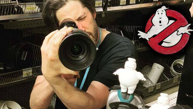 Ghostbusters: Afterlife director shares Mini-Puft fueled set photo