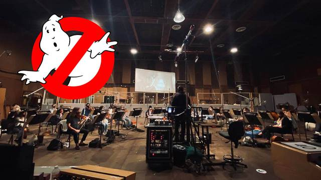 Ghostbusters: Afterlife director shares orchestra score photo