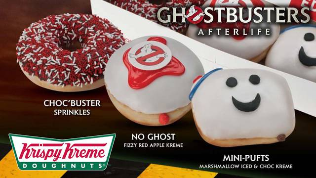 Ghostbusters: Afterlife doughnuts are coming to Krispy Kreme South Africa!