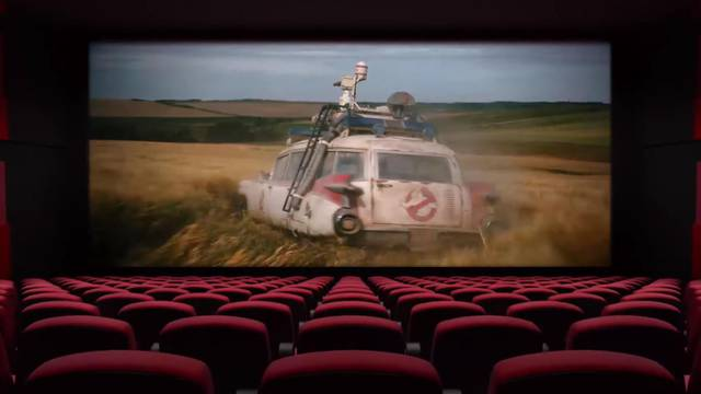 Ghostbusters: Afterlife featured in 'The Big Screen Is Back' campaign