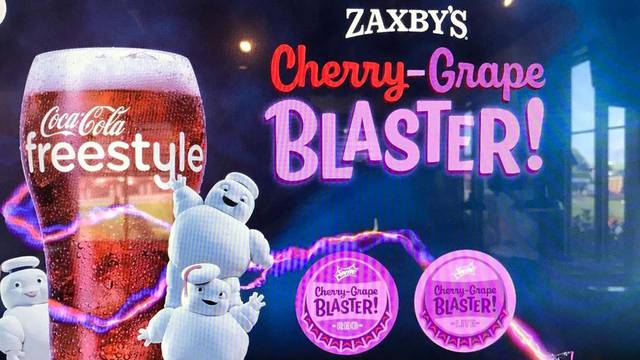 Ghostbusters: Afterlife inspired beverage now available at Zaxby's!