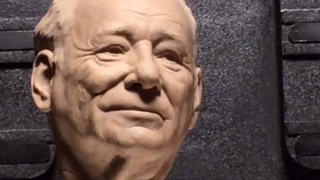 Ghostbusters: Afterlife make-up effects designer shares Bill Murray sculpture