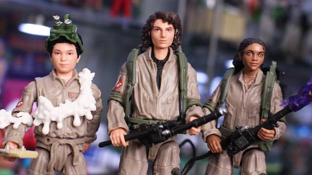 Ghostbusters: Afterlife Plasma Series – Trevor, Podcast, Lucky (review + unboxing)