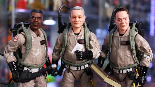 Ghostbusters: Afterlife Plasma Series – Venkman, Stantz, Zeddemore (review + unboxing)