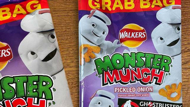 Ghostbusters: Afterlife's Mini-Pufts now appearing on Walkers snack food products