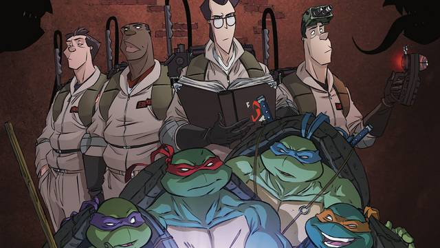 GHOSTBUSTERS and NINJA TURTLES Reunite in New IDW Series