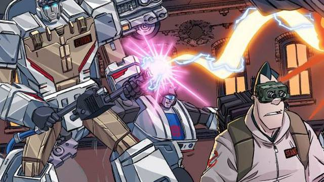 Ghostbusters and Transformers team up in new comic story arc! FIRST IMAGES RELEASED!