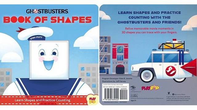 Ghostbusters: Book of Shapes Book Review