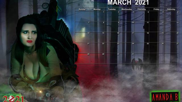 Ghostbusters Calendar: March 2021