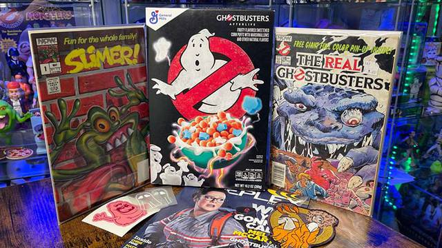 Ghostbusters cereal, comics, patches, and more! (Fan Mail Friday)