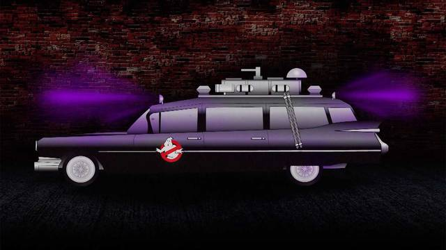 Ghostbusters Ecto-1 Was Originally All Black With Purple Lights - Autoclassics.com