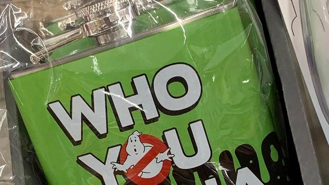 Ghostbusters flask spotted at Walmart