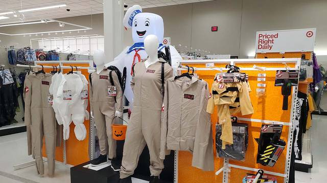Ghostbusters Halloween displays spotted at Target