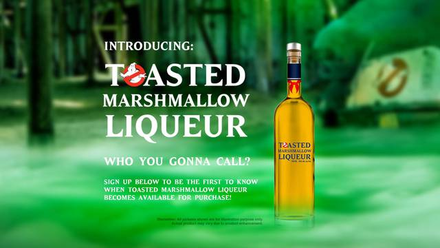 Ghostbusters is getting its own liqueur featuring the taste of toasted marshmallow