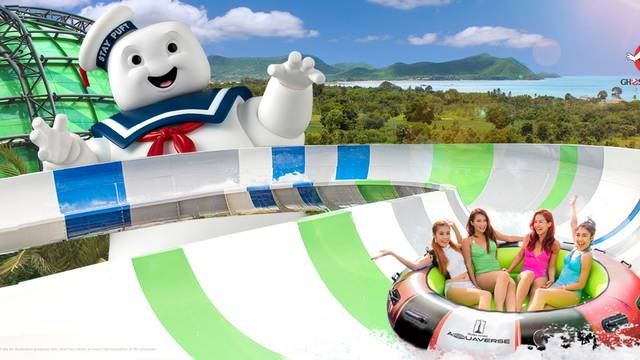 Ghostbusters is getting its own ride at Columbia Pictures recently announced theme and waterpark!