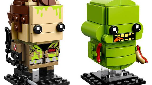 Ghostbusters Lego Brickheadz box art released along with promo images