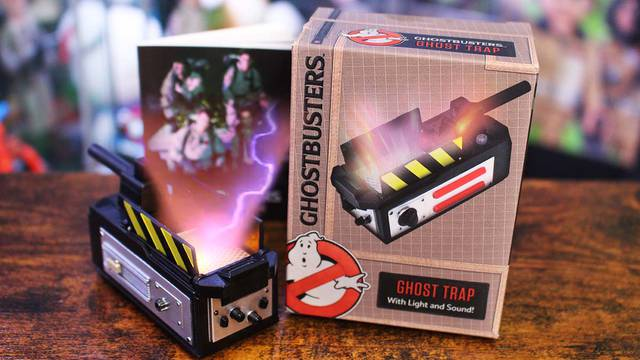 Ghostbusters Mini-Ghost Trap (unboxing + review)