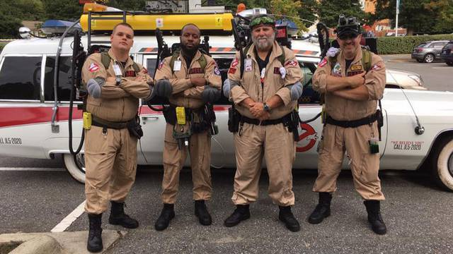 Ghostbusters of North Carolina brightens days