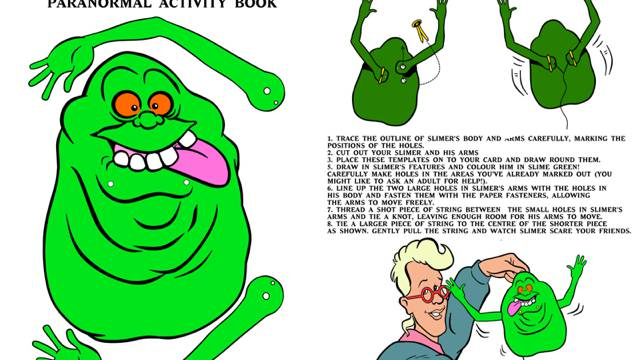 Ghostbusters Paranormal Activity Book