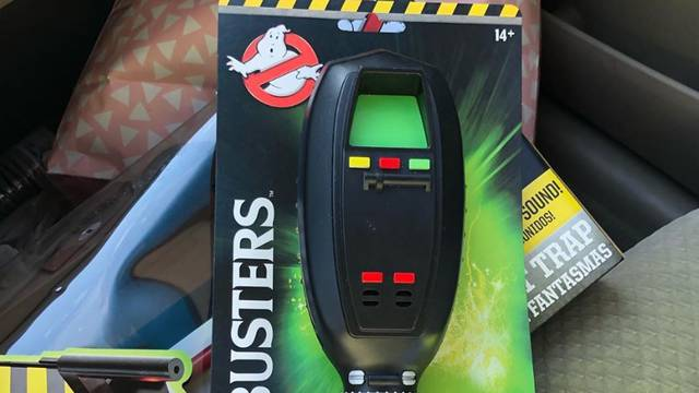 Ghostbusters PKE meter now showing up at Walmart + ghost trap update