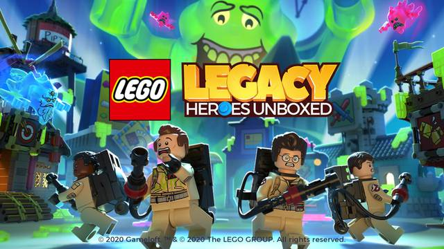 Ghostbusters update now live for LEGO Legacy: Heroes Unboxed