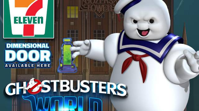 Ghostbusters World has invaded Canadian 7-11 locations!