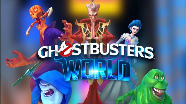 Ghostbusters World preview shown on Google Maps at GDC