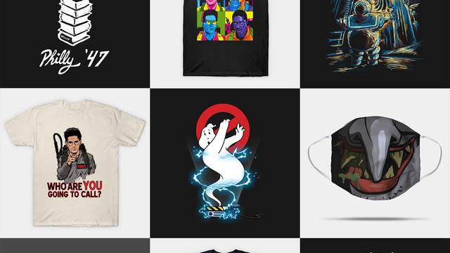 Halloween Sale! Save up to 35% off EVERYTHING on the Ghostbusters News store!